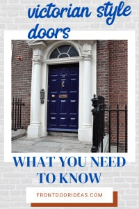 victorian style doors