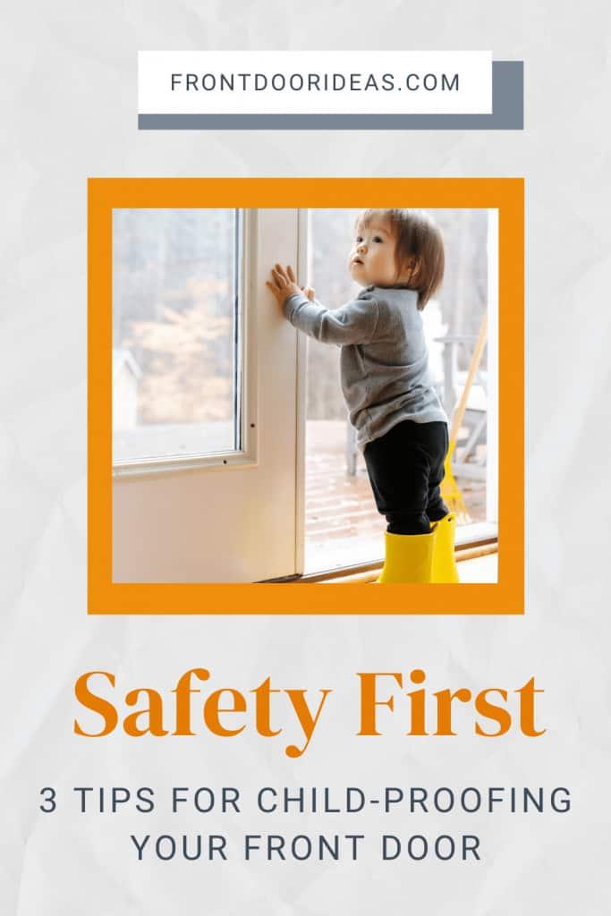 child proofing your front door