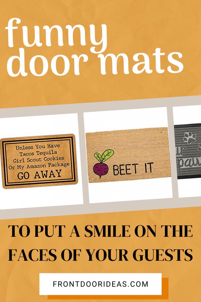 funny door mats