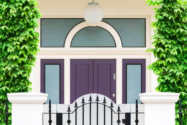 The Powerful Purple Front Door Meaning