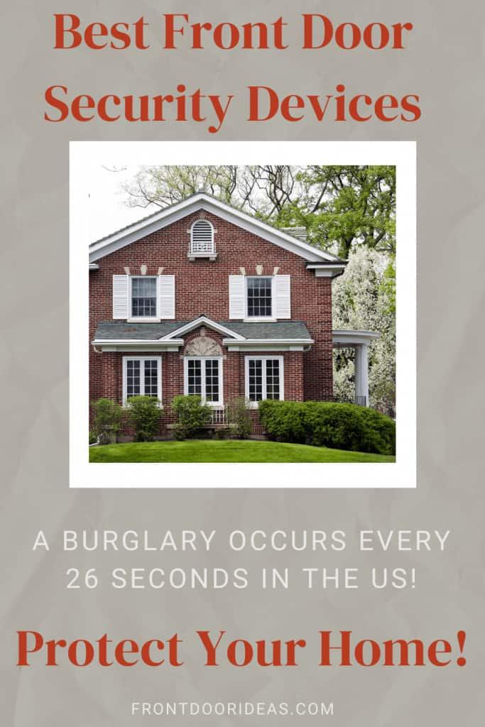front door security devices