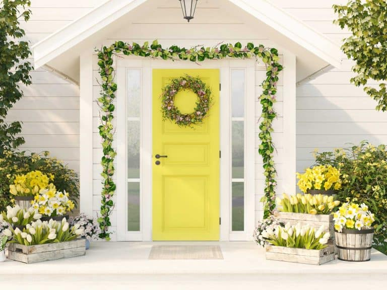 24 of the best spring front door decorations