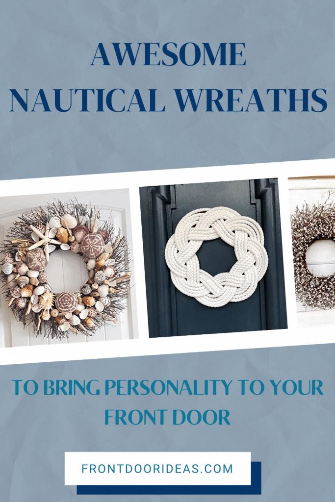 nautical front door wreaths