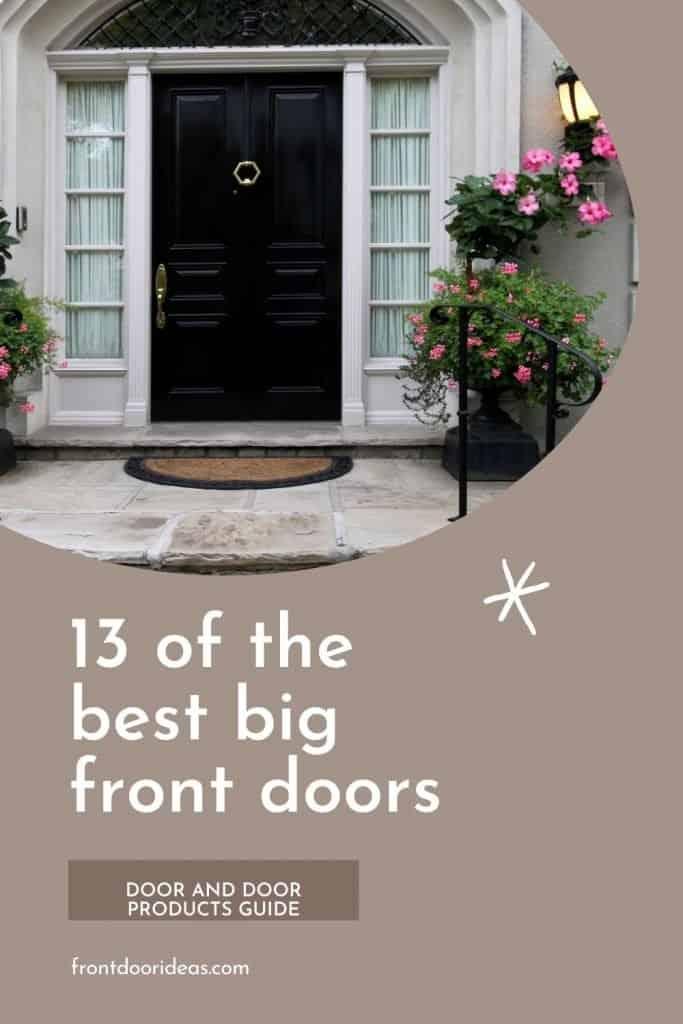oversized front door