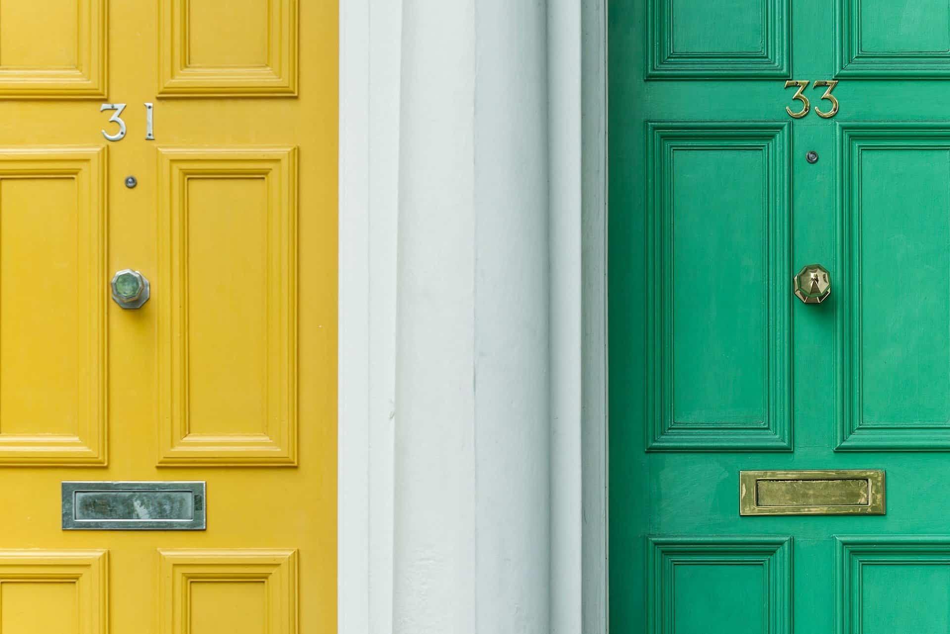 front door color meanings